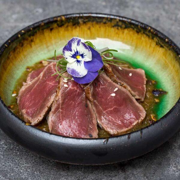 Raw - Beef Tataki