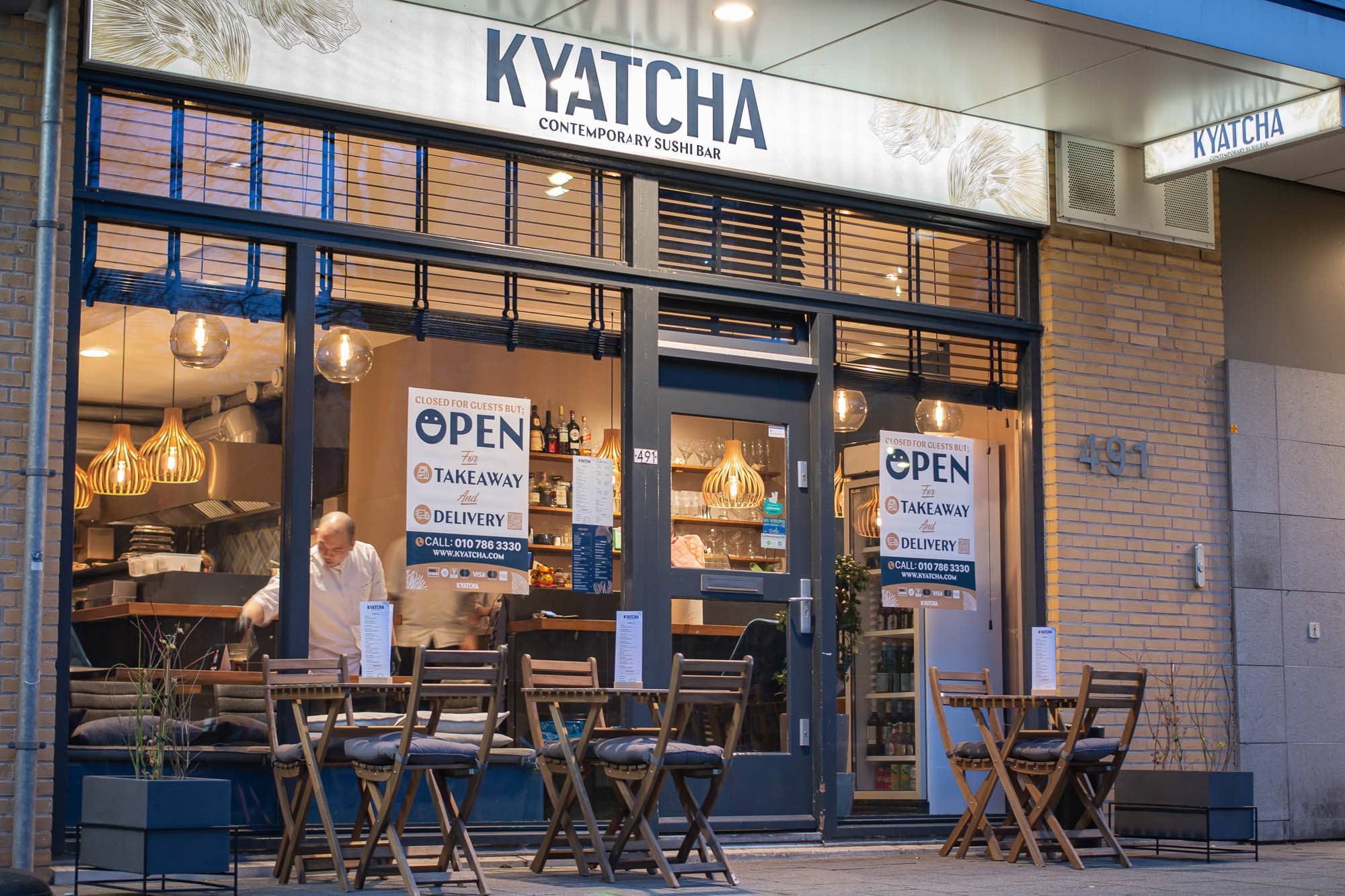 Kyatcha Blaak Location Rotterdam